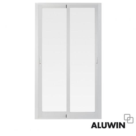 Puerta corredera sin persiana prefabricadas ventanas y for Puertas prefabricadas precios