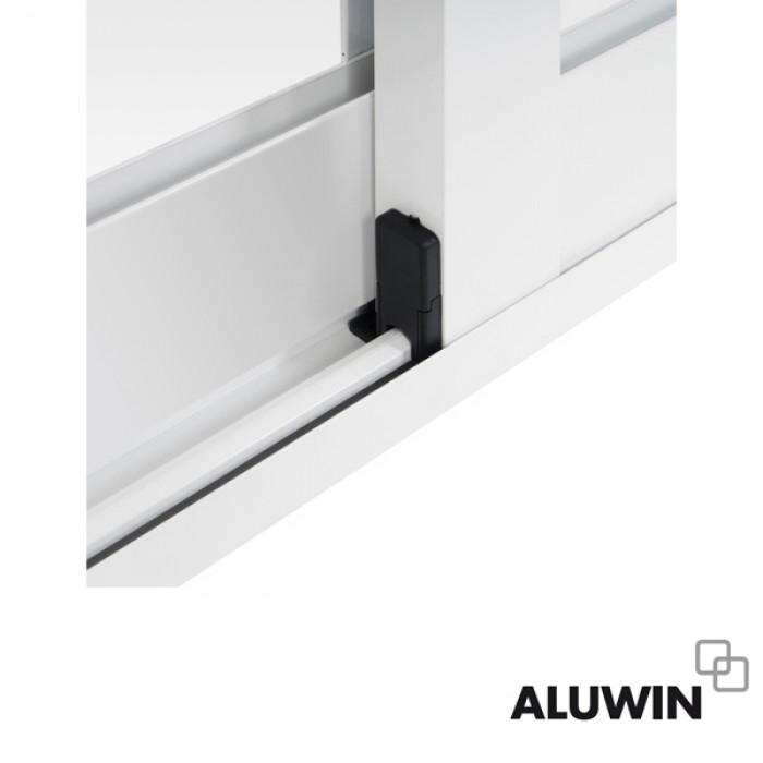 Puerta corredera con persiana ventanas y puertas de aluminio - Puerta aluminio corredera ...
