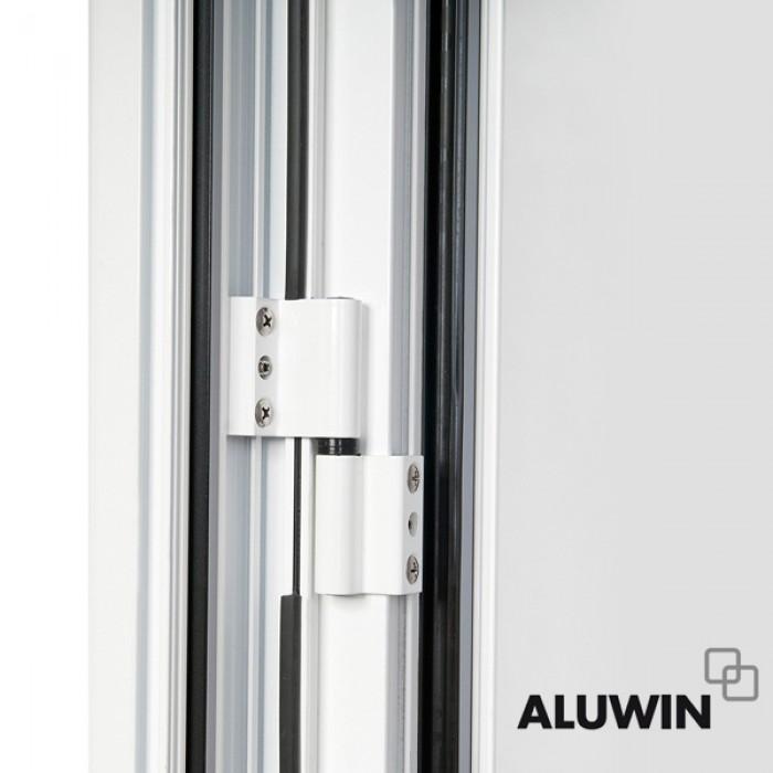 Puerta abatible una hoja con multiusos o de cocina sin - Ventanas oscilobatientes aluminio precios ...