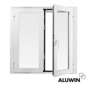 Ventanas y puertas de aluminio abatibles oscilobatientes for Puerta oscilobatiente