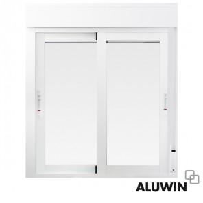 Ventanas y puertas de aluminio tipo climalit for Ventanas con persianas incorporadas